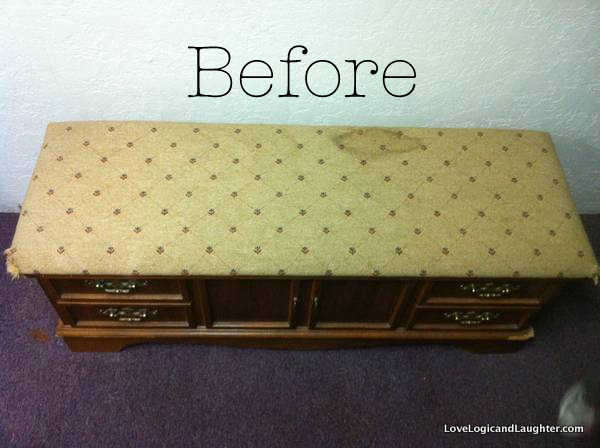 One Of My Good Friends, Kim, Showed Me How She Transformed An Old Cedar  Chest Into A File Cabinet!