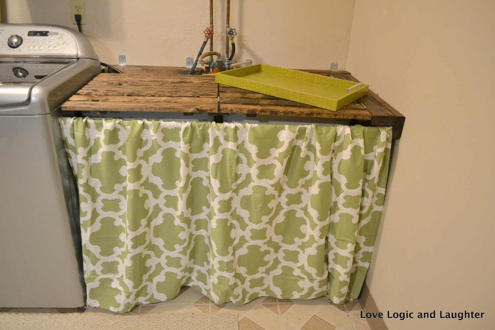 Links For Details On The Individual Laundry Room Makeover Diy Projects Utility Sink Cover Lid